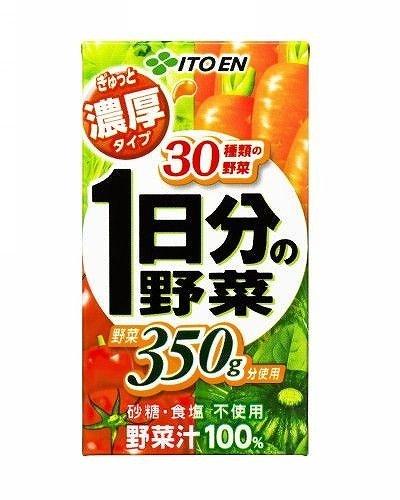 Nobrand carta Itoen strettamente concentrata 125mlX48 dal valore di un giorno di verdure [iteisc alimentare (63.677.503)