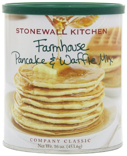 Stonewall Kitchen Small Farmhouse Pancake & Waffle Mix, 16 Ounce Can (Pack of 4) at Amazon.com