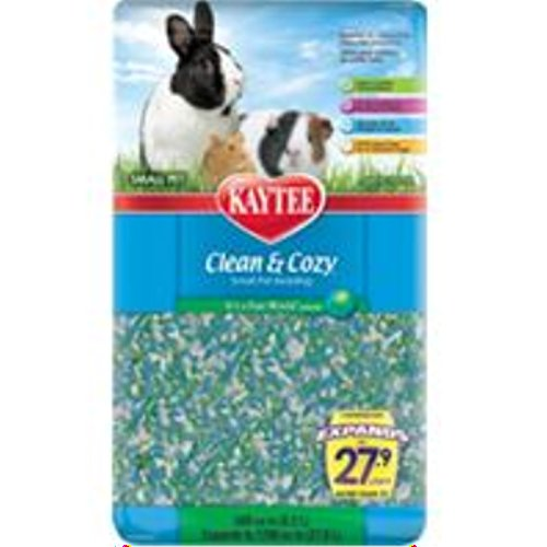 Kaytee Clean & Cozy It's a Fun World 500 Cubic Inch 51e Ir0QNmL