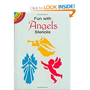 Fun with Angels Stencils (Dover Stencils) Paul E. Kennedy