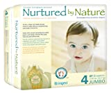 Nurtured by Nature Environmentally-Sensitive Diapers, Large Size 4, 22-37 Pounds (108 Count