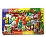 C/V Set Frutas Y Acc. Supermercado 54x33x5cm