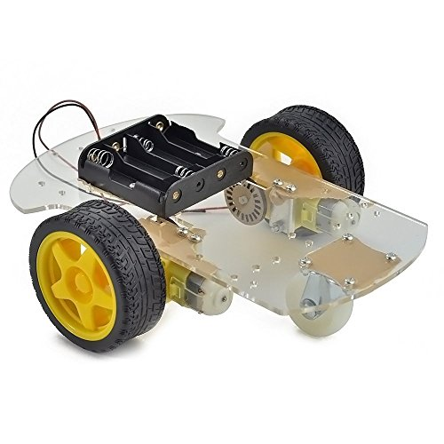 Makerfire® Arduino 2WD Motor Robot Car Chassis Kit (2wd Robot Car compare prices)