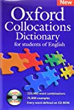 Oxford Collocations Dictionary For Students of English (Book & CD)