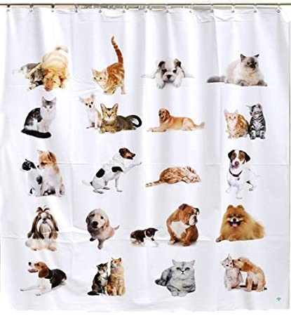Jet Creations Negative Ions Curtain, Cats and Dogs by Jet Creations (English Manual)