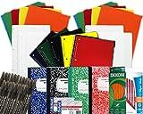 Back to School Pens, Pencils, Paper Supply Bundle Box