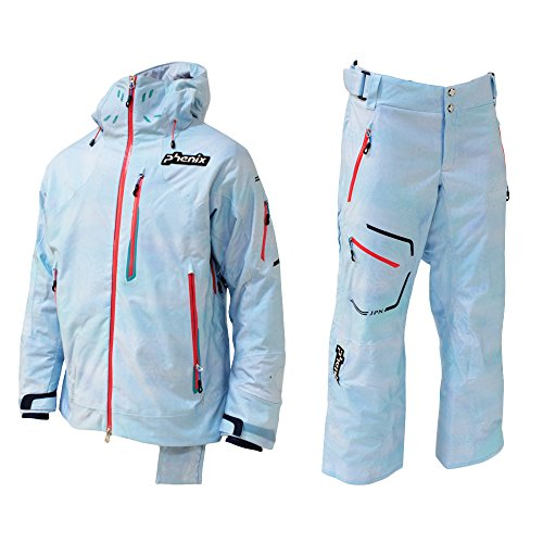 PHENIX(フェニックス)【PF572OT01/PF572OB01】ユニセックス スキーウェア ジャパンチーム ジャケット パンツ 上下セットLB2×LB L