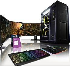 VIBOX Legend HyperFreeze Paquet 20 - Élite Gaming PC, Desktop Ordinateur de bureau (Intel i7 5930k @ 4.5GHz 6-Core, Personnalisé Water Cooler, 2 x Nvidia Geforce GTX 980 Carte Graphiques, 500Go SSD, 3TB, 32Go RAM, Windows 10)