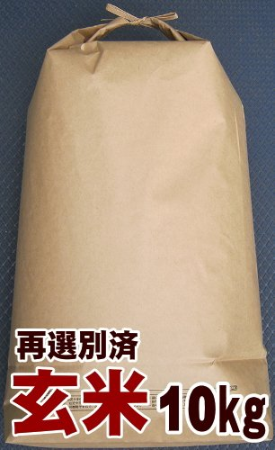 【新米】 鹿児島県産  玄米 イクヒカリ 10kg 平成27年産 (1等検査米) 再選別済