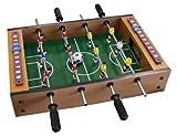 Idena 6170001 - Mini Tischfußball, circa 34 x 32 cm, inklusive 2 Bälle und 12 Spieler
