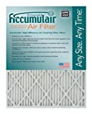 Accumulair Emerald 14x24x4 (13.5x23.5x3.75) MERV 6 Air Filter/Furnace Filters (4 pack)