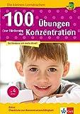 Klett 100 Übungen zur Förderung der Konzentration: Vorschule