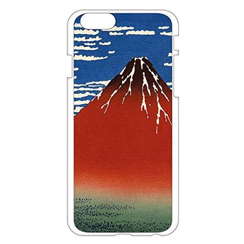 iPhone6/6sスマホカバー葛飾北斎 赤富士