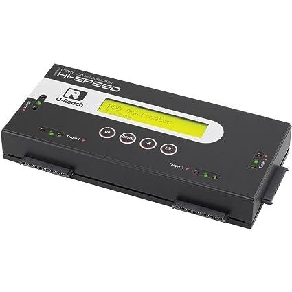 Station de copiage pour disque dur 3x U-Reach PRO368 SATA avec fonction
