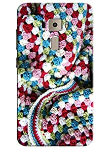 Omnam Woolen Sweater Pattern Printed Designer Back Cover Case For Asus Zenfone 3 ZE552KL
