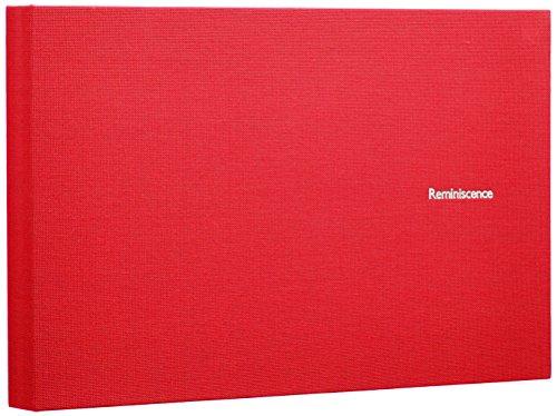 SEKISEI アルバム ポケット ハーパーハウス レミニッセンス ミニポケットアルバム 2Lサイズ 40枚収容 2L 21~50枚 布 レッド XP-40G