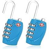 TSA Locks For Luggage 2 Pack Blue Color