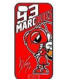 93 Marc Márquez マルク・マルケス Moto GP スマホケース iPhone6 6S カバー [並行輸入品]