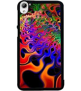 ColourCraft Printed Design Back Case Cover for HTC DESIRE 826