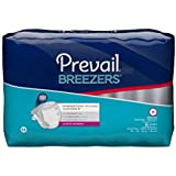 Prevail Breezers Adult Briefs, Medium, 16 Count (Pack of 6)