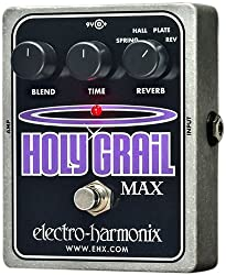 Electro-Harmonix Guitar Distortion Effects Pedal (Holy Grail Max) by New Sensor