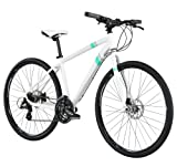 Diamondback Bicycles 2014 Calico Women's Dual Sport Bike (700cm Wheels), 18-Inch, White