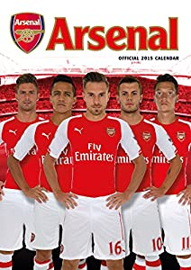 Official Arsenal FC 2015 Calendar (Calendars 2015)