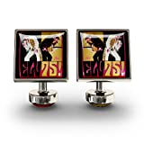 Elvis Presley Limited Edition 75th Fashion Cufflinks from Würkin Stiffs® Artwork by Joe Petruccio