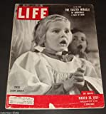 img - for original LIFE MAGAZINE of March 26, 1951 with Child Choir Singer on the cover. Spy tells of A-Bomb with Russia. MOVIES: 'Royal Wedding' Fred Astaire dances on ceiling. book / textbook / text book