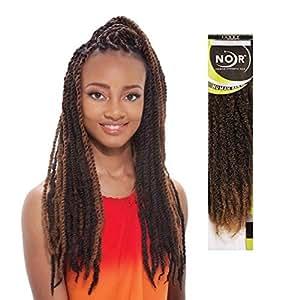 Amazon Com Janet Collection Synthetic Hair Braids Noir