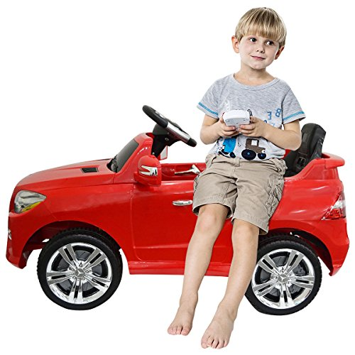 Costzon Mercedes Benz ML350 6V Electric Kids Ride On Car Licensed MP3 RC Remote Control (Mercedes Benz Kids Electric Car compare prices)