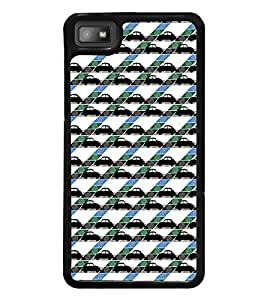 Vizagbeats Collection of Cars Back Case Cover for BLACKBERRY BBZ10