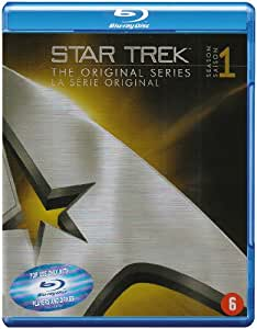 Star Trek: The Original Serie - L'intégrale de la saison 1 - Coffret 7 Blu-ray [Import belge]