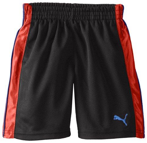 Puma Little Boys' Sport Short, Black Boy, 7 front-1027507