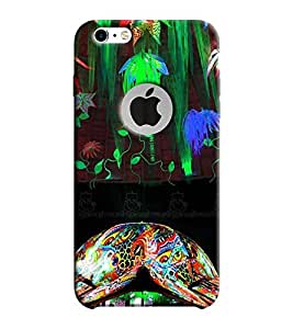 Fixed Price Printed Back Cover For Iphone 6/6S (Multicolor)