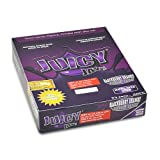 Juicy Jay King Size Slim Rolling Paper Blackberry Brandy Box of 24