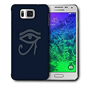 Snoogg Oudjat Dark Printed Protective Phone Back Case Cover For Samsung Galaxy SAMSUNG GALAXY ALPHA
