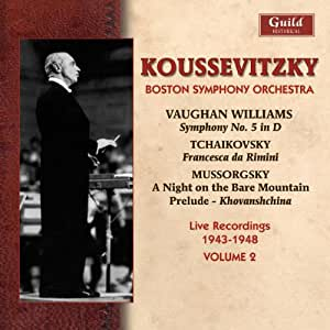 Koussevitzky Conducts the Boston Symphony