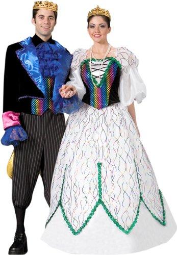 Adult Men's Mardi Gras King Halloween Black Costume