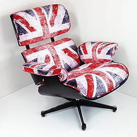 Detalles sobre el diseño de Reino Unido silla y taburete de madera inspirado en Charles Eames