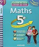 Maths 5e : cahier de révision et d'entraînement