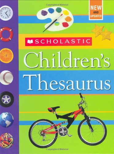 Scholastic Children'S Thesaurus front-874834