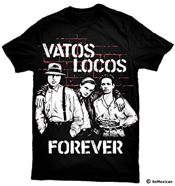 Blood In Blood Out T-Shirt Vatos Locos Forever | Amazon.com