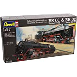 Revell 1:87 Scale Express Br 01 and Br 02 Locomotive Trains Set