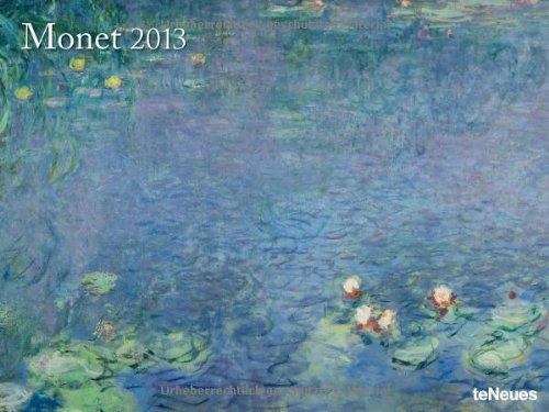 2013 Claude Monet Super Poster Calendar (Horizontal)