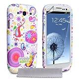 """Samsung Galaxy S3 Tasche Silikon Wei� Quelle H�lle Mit Displayschutz Und Poliertuchvon """"Mobile Madhouse"""""""