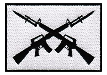 Assault Rifle Stock Images, Royalty-Free Images & Vectors ...  Crossed Guns M4