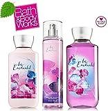 Be Enchanted Shower Gel 10 Oz & Body Lotion 8 Oz & Fine Fragrance Mist (Set of Three)