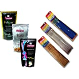 MaayasDeep Combo Incense Stick Of (3 Pcs Zipper Pouch+3 Pcs Rang Barse Color Pouch)-Assorted Fragrance With Colour...