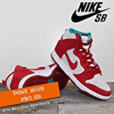 NIKE(ナイキ) ダンク ハイ プロ DUNK HIGH PRO SB Gym Red/Gym Red-White/メンズ(men's) 靴 スニーカー (305050-661)